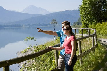 Wanderweg am Forggensee
